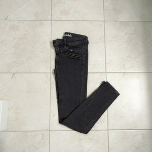 Aeropostale Gray Lola Jeggings